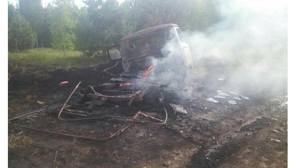 Стрельба на границе в Сумской области