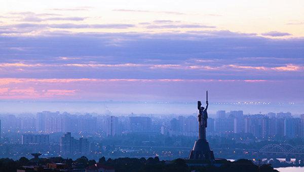 Ночь в Киеве. Архивное фото