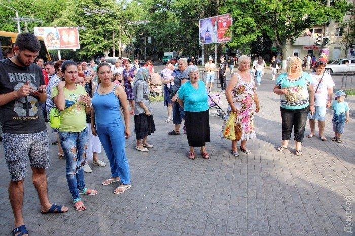 Митинг против концерта Билык в Одессе, 8 июня 2017