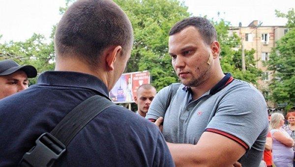 В защиту выступления Ирины Билык в Одессе выступила Черная сотня, 8 июня 2017