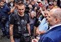 Сергей Стерненко, инициатор митинга против выступления Ирины Билык в Одессе