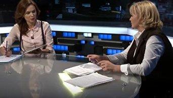 Ирина Луценко о невыгоде визового режима с Россией. Видео