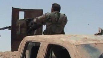 Сирийская армия достигла границы с Ираком в районе Ат-Танфа. Видео