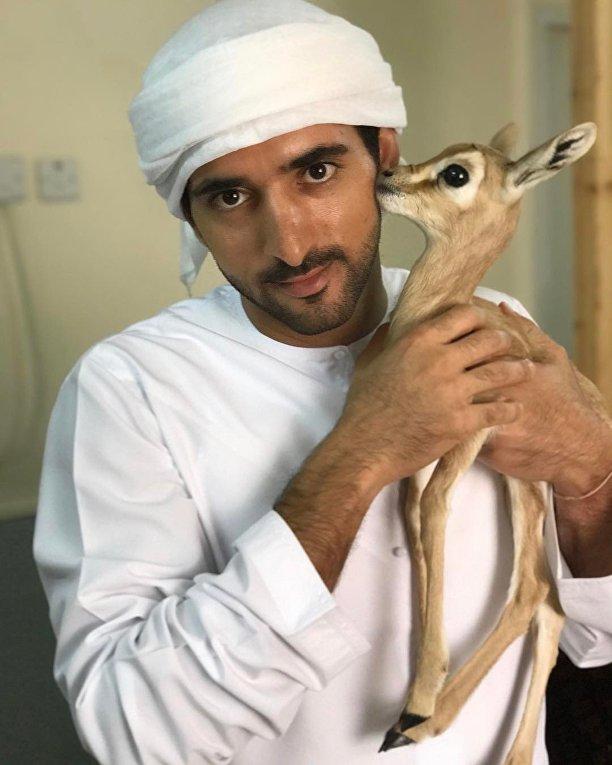 Наследный принц Дубая Хамдан ибн Мохаммед Аль Мактум