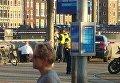 Автомобиль сбил пешеходов у центрального вокзала Амстердама