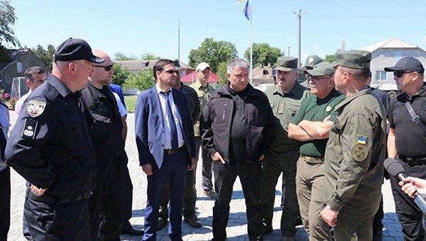 Арсен Аваков в Одесской области