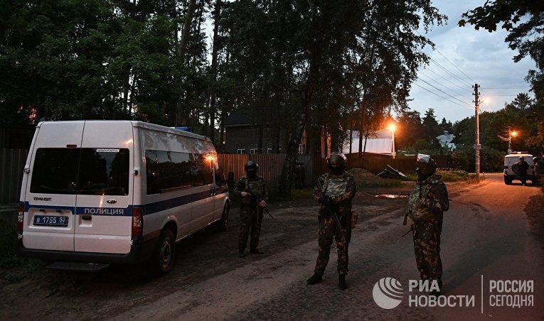 СКР: в итоге стрельбы вПодмосковье ранены 2 человека