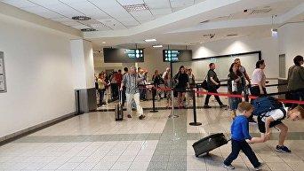 Первый рейс из Украины в Будапешт рамках вступления в силу безвизового режима