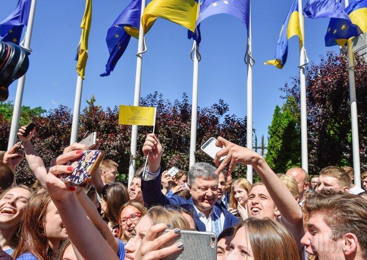 Начавшимся ссегодняшнего дня безвизом уже ночью воспользовались сотни украинцев