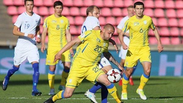 Футбольная форма сборной Украины среди худших вотборе наЧМ