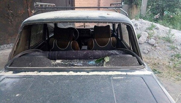 Украина обвинила ополченцев в обстреле Авдеевки