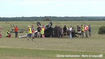Во Франции на авиашоу разбился самолет времен Второй мировой войны