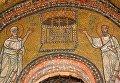 Мозаика капеллы Сан Дзено церкви Санта Прасседе