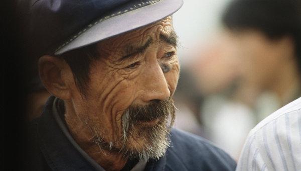 Пожилой китаец. Архивное фото
