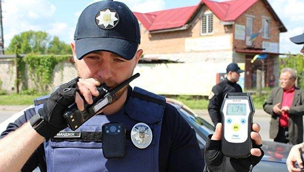 Украинский патрульный. Архивное фото