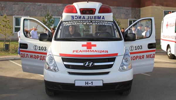 Скорая помощь в Казахстане. Архивное фото