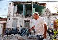 Последствия землетрясения на острове Лесбос, Греция