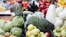 Овощи и фрукты. Архивное фото