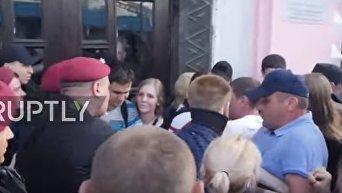 Попытка срыва церемонии открытия КиевПрайд-2017. Видео