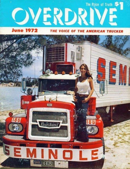 Девушки и грузовики: винтажные обложки журналов 70-х
