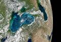 Как выглядит Украина с орбиты Земли