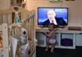 Трансляция Прямой линии с Владимиром Путиным