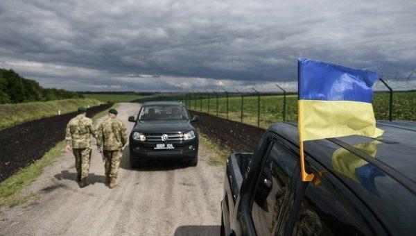 Пограничники провели учения на границе с Россией