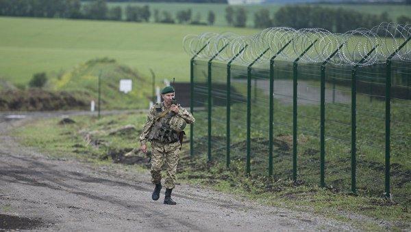 Пограничники Украины. Архивное фото