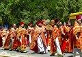 В Аккермане православные Московского патриархата провели  крестный ход «за мир и стабильность»