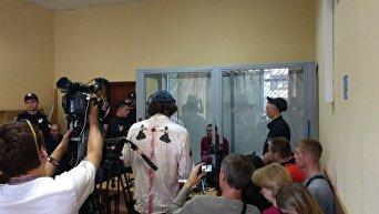 Суд над подозреваемым в убийстве Дениса Вороненкова