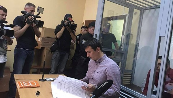 Дело Дениса Вороненкова. Член Нацкорпуса Ярослав Тарасенко в суде