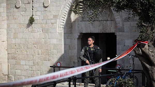 На месте теракта в Иерусалиме