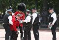В Лондоне на церемонии в честь дня рождения Елизаветы II гвардейцы упали в обморок