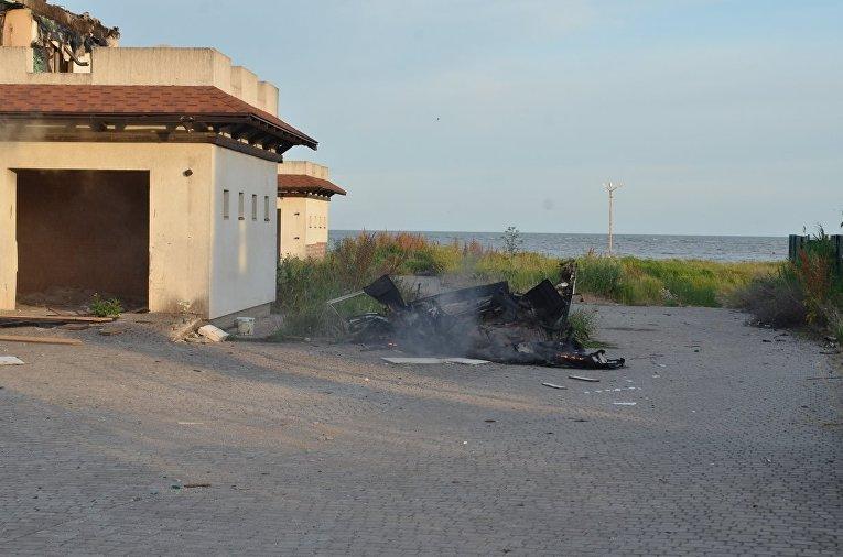 Обстрел Бердянского