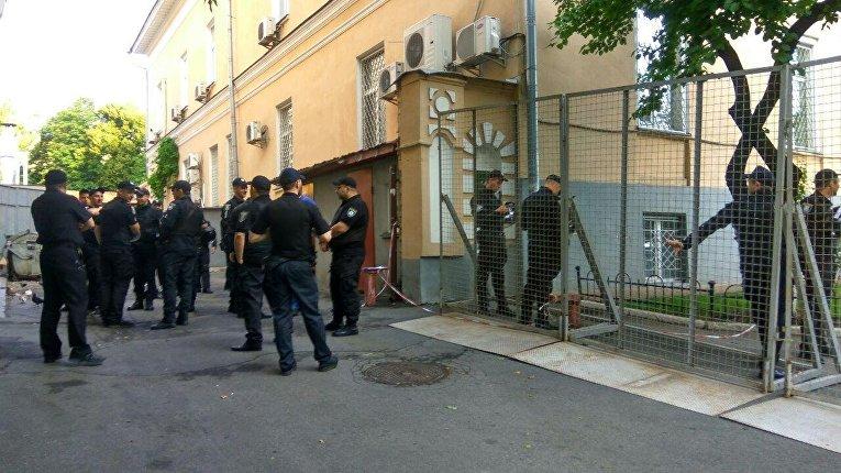В центре Киева из-за ЛГБТ-марша дежурят наряды полиции