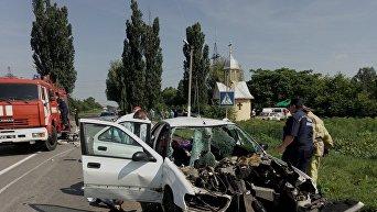 Смертельное ДТП на Буковине: 3 погибших, 2 травмированных