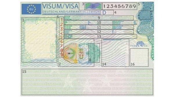 Шенгенская виза будет иметь новый дизайн