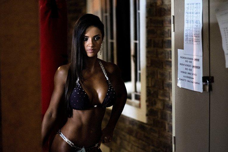 Бодибилдинг-шоу Miss SA Xtreme в ЮАР