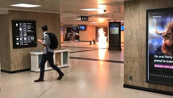 Военнослужащий застрелил мужчину в центре Брюсселя с поясом смертника — СМИ