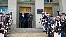 Встреча президента Петра Порошенко с министром обороны США Джеймсом Мэттисом