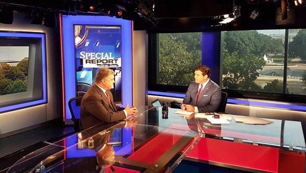 Интервью Петра Порошенко Fox News