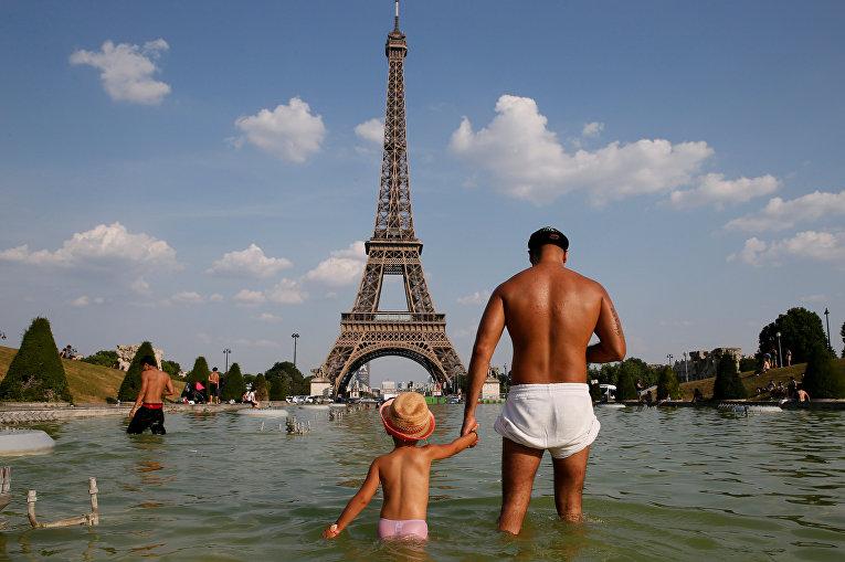 Аномальная жара в Европе и США