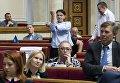 Савченко пордемонстрировала неприличный жест в Верховной Раде