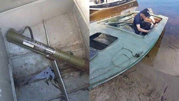 Отдыхающим на Киевском море пригрозили гранатометом в ответ на замечание
