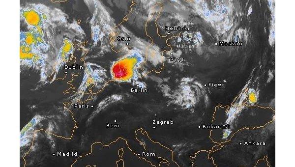 На Украину надвигается циклон из Дании, 22 июня 2017