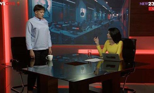 Савченко продемонстрировала жест Гройсмана, который не попал в СМИ