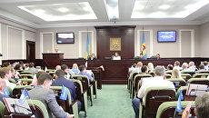 Заседание Киевского областного совета
