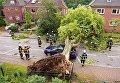 Над северной частью Германии пронесся торнадо.