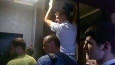 Обыски в доме Игоря Гужвы, 23 июня 2017