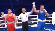 Победа украинца Виктора Выхриста на ЧЕ по боксу. Видео